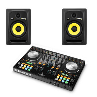 Native Instruments Traktor Kontrol S4 MK2 + KRK RP6 Bundle