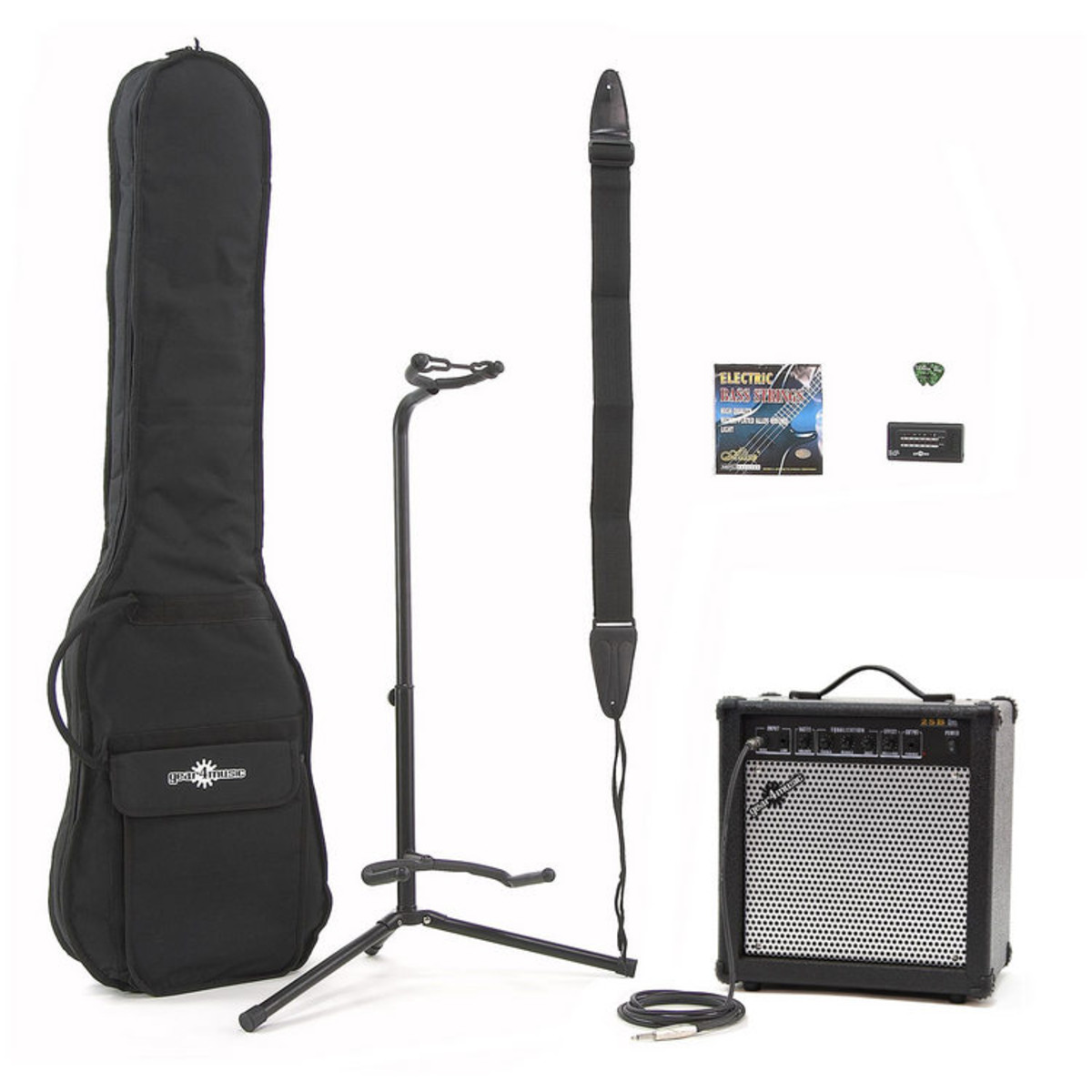 25 Watt Bass Amp & Accessory Pack
