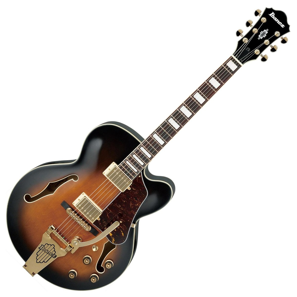 ibanez af75tdg artcore vintage sunburst at gear4music. Black Bedroom Furniture Sets. Home Design Ideas