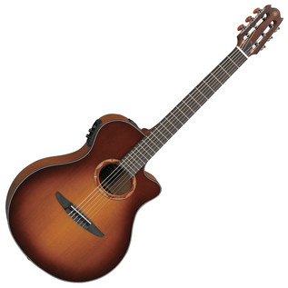 Yamaha NTX700CBS Classical Guitar, Brown Sunburst