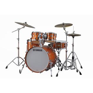 Yamaha Absolute Hybrid Maple Kit, Orange Sparkle