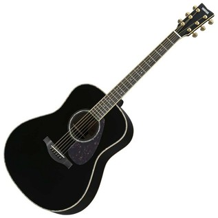 Yamaha LS16ARE Acoustic Guitar, Black
