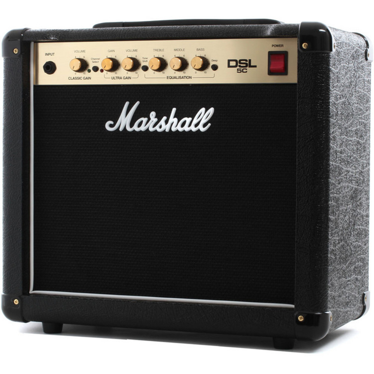 marshall dsl5c valve 2 channel 1x10 guitar combo amp at gear4music. Black Bedroom Furniture Sets. Home Design Ideas