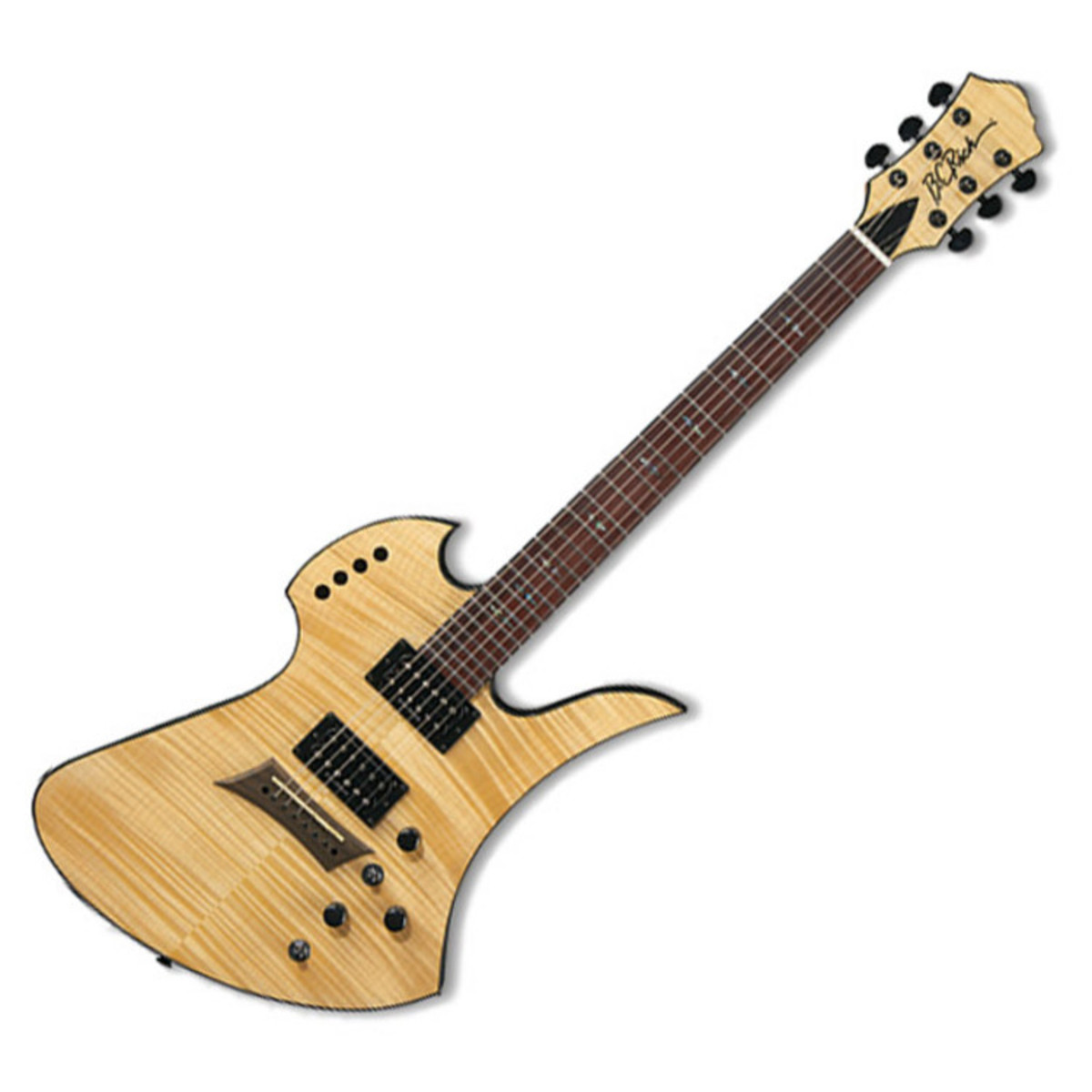 disc bc rich mockingbird polarity deluxe guitar natural at gear4music. Black Bedroom Furniture Sets. Home Design Ideas