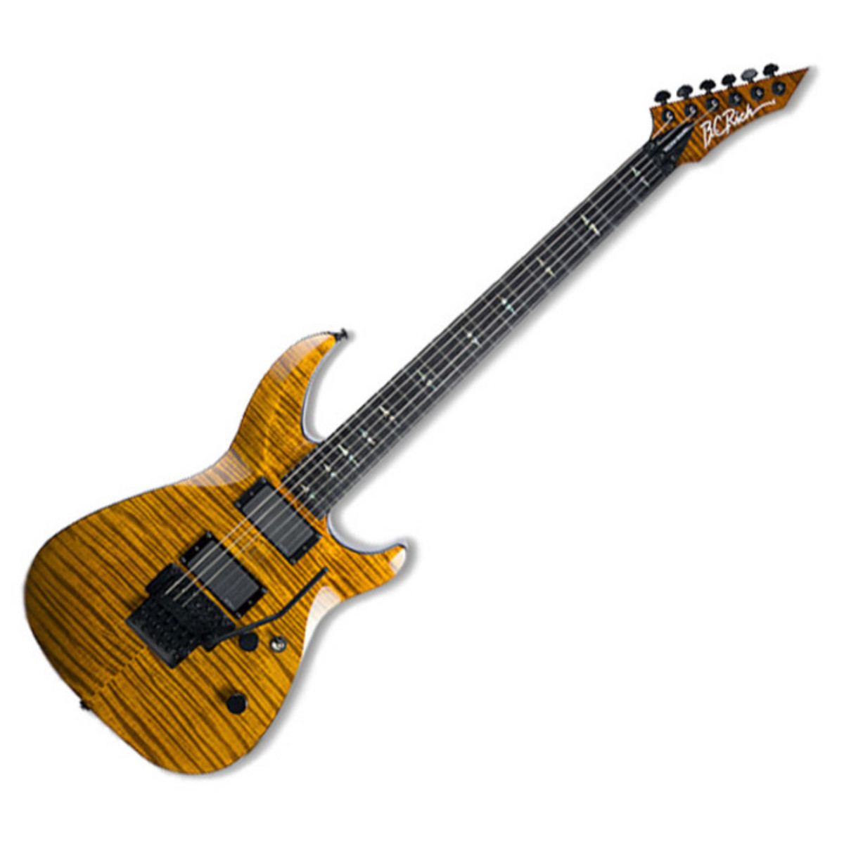 disc bc rich villain deluxe electric guitar tiger eye at gear4music. Black Bedroom Furniture Sets. Home Design Ideas