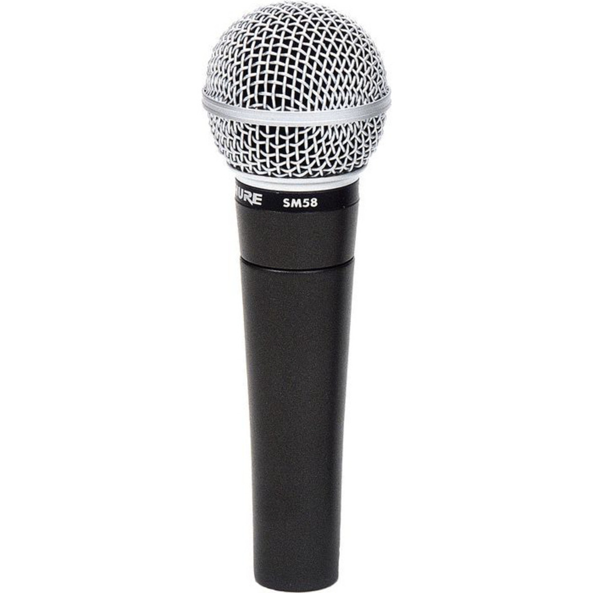 shure sm58 dynamic cardioid vocal microphone nearly new at gear4music. Black Bedroom Furniture Sets. Home Design Ideas