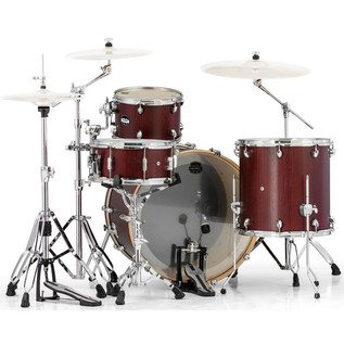 Mapex Mars 446 Rock 24in Shell Pack, Bloodwood