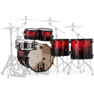 Mapex Armory 628S LA Fusion 22in Shell Pack, Magma Red