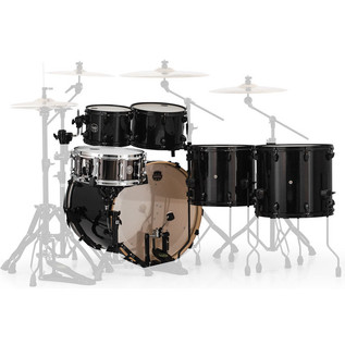Mapex Armory 628S LA Fusion 22in Shell Pack, Trans Black