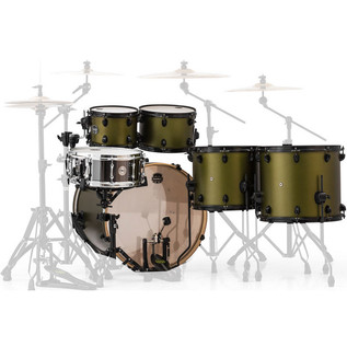 Mapex Armory 628S Rock Fusion 22in Shell Pack, Mantis Green