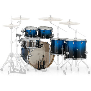 Mapex Armory 628S Rock Fusion 22in Shell Pack, Photon Blue