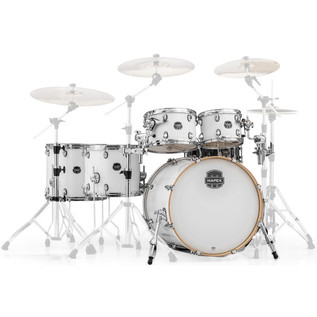 Mapex Armory 628S Rock Fusion 22in Shell Pack, Arctic White
