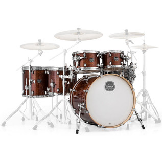 Mapex Armory 628S LA Fusion 22in Shell Pack, Trans Walnut