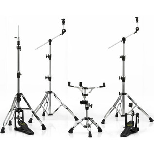 Mapex Armory HP8005CB Chrome/Black Plated 5-Piece Hardware Pack