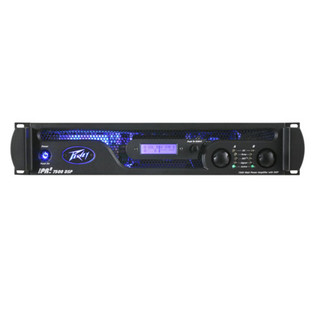Peavey IPR2 7500 DSP Power Amplifier with Front-Panel LCD Screen