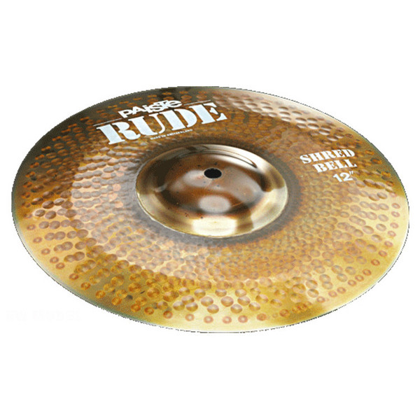 Paiste Rude Shred 12 Inch Bell Cymbal