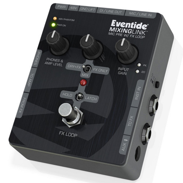 Eventide Mixing Link Mic Pre With Effects Loop