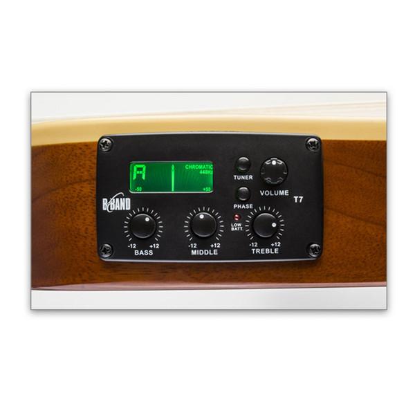 ESP LTD ARC-12 12-String Electro-Acoustic Guitar, Black