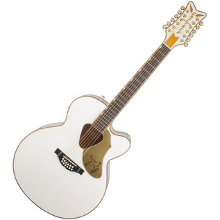 Gretsch G5022CWFE White Falcon 12-String Electro Acoustic Guitar