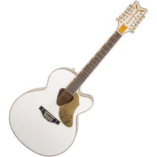 Gretsch G5022CWFE White Falcon 12-String Electro Acoustic Guitar