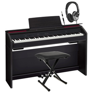 Casio Privia PX-850 Digital Piano with Headphones and Stool