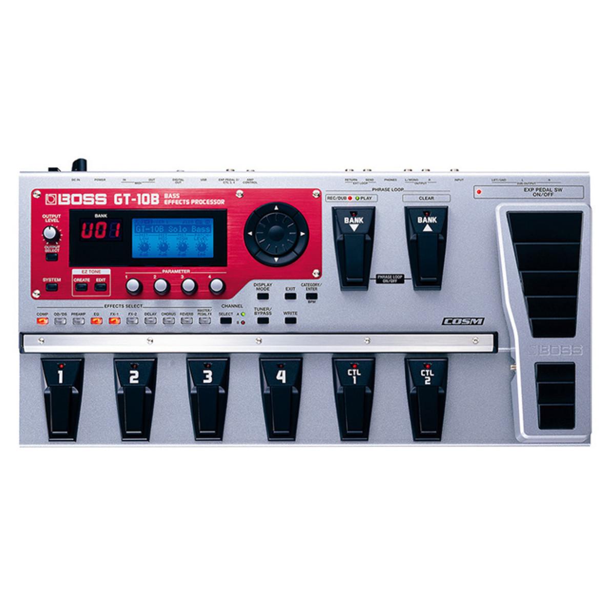 disc boss gt 10b bass guitar effects processor at gear4music com rh gear4music com gt-10b manual español gt-10b bass effects processor manual