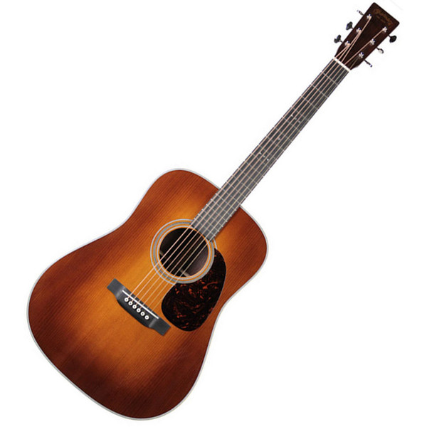Martin D-28 Dreadnought Acoustic Guitar, Ambertone