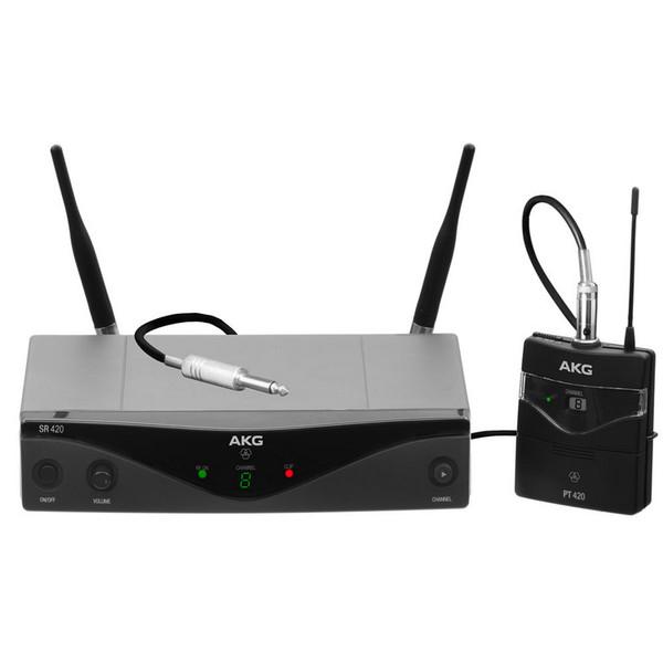 AKG WMS420 Instrument Set Wireless System, Full Set