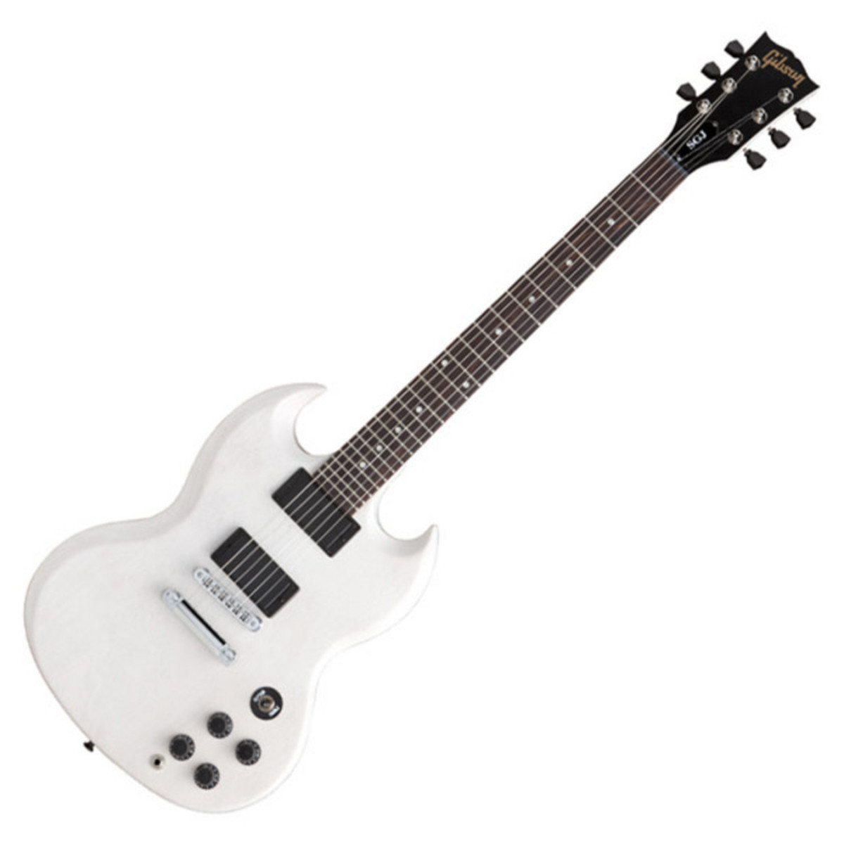 Gibson SG Junior, Rubbed White Low Gloss Satin - Nearly New