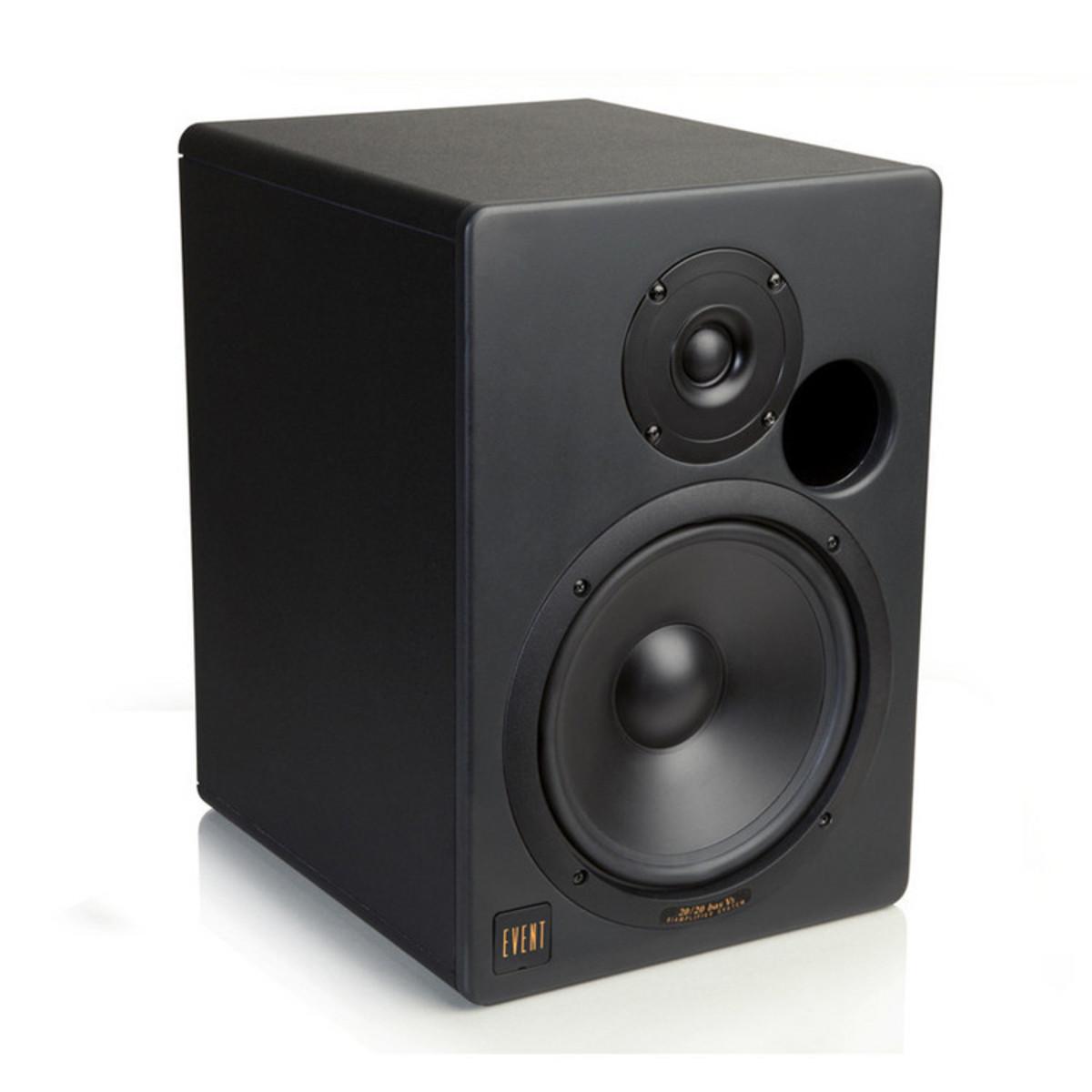 event 20 20 bas v3 aktiv studiomonitor singel gear4music. Black Bedroom Furniture Sets. Home Design Ideas