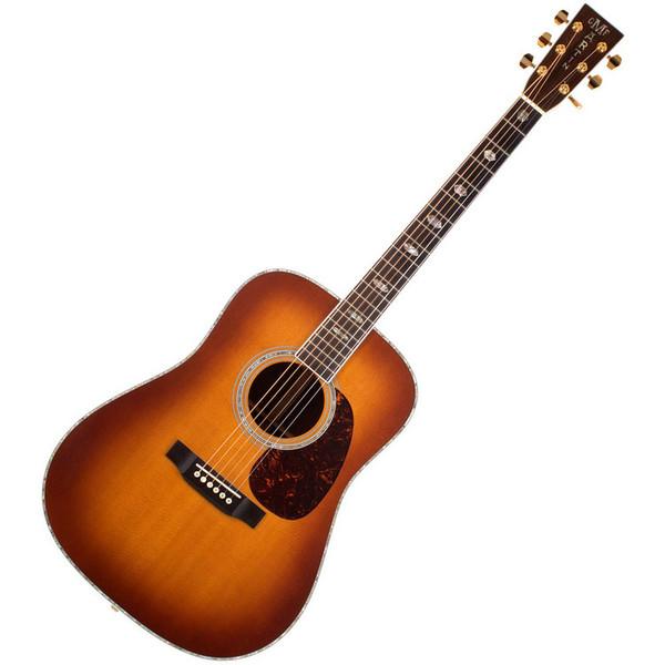 Martin D-41 Dreadnought Acoustic Guitar, Ambertone
