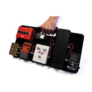 Diago PB08 Commuter Portable Pedalboard and Softcase
