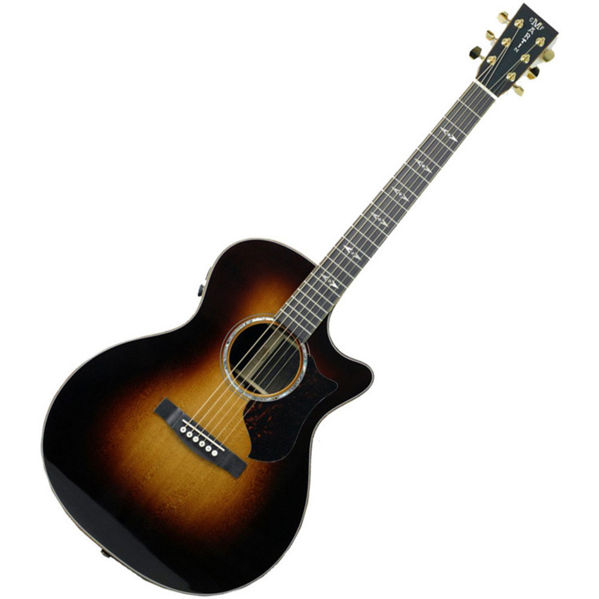 martin gpcpa1 plus guitare lectro acoustique sunburst. Black Bedroom Furniture Sets. Home Design Ideas