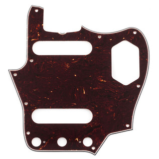 Fender Pure Vintage 65 Jaguar Pickguard, Brown Shell