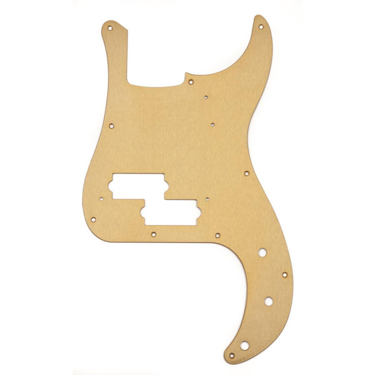 Precision Bass Pickguard : fender pure vintage 58 precision bass pickguard gold at gear4music ~ Russianpoet.info Haus und Dekorationen