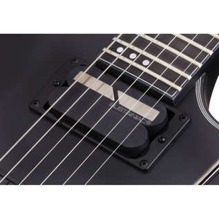 Schecter Blackjack SLS C1 FR S Electric Guitar, Satin Black