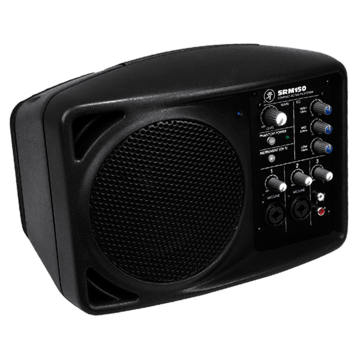 mackie srm150 compact pa system single nearly new at gear4music. Black Bedroom Furniture Sets. Home Design Ideas