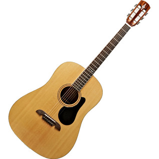 Alvarez ARD70 Dreadnought Acoustic Guitar, Natural