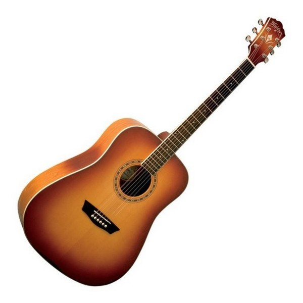 Washburn WD7S Dreadnought Acoustic, Antique Cherry Sunburst