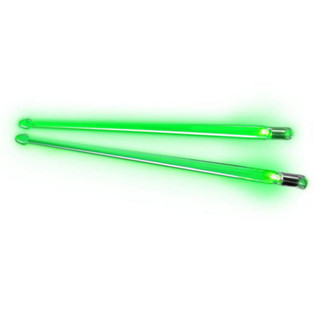 Firestix Light-Up Drum Sticks, Green