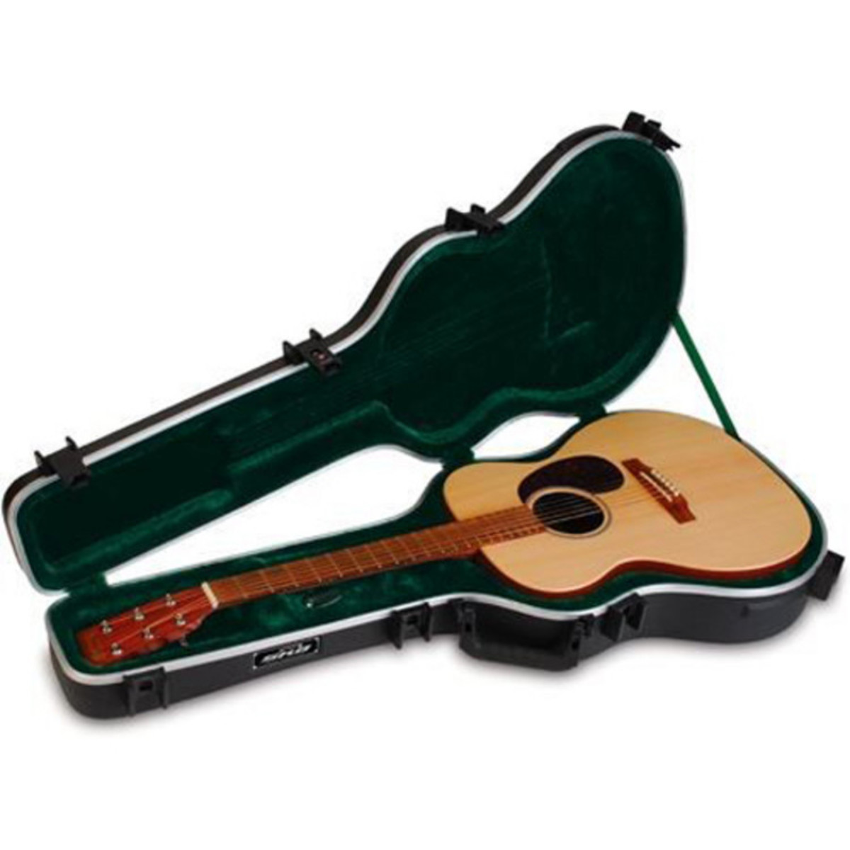 skb 000 size acoustic hardshell guitar case at gear4music. Black Bedroom Furniture Sets. Home Design Ideas