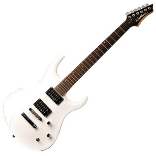 Washburn XM Series STD2PWH Electric Guitar, White