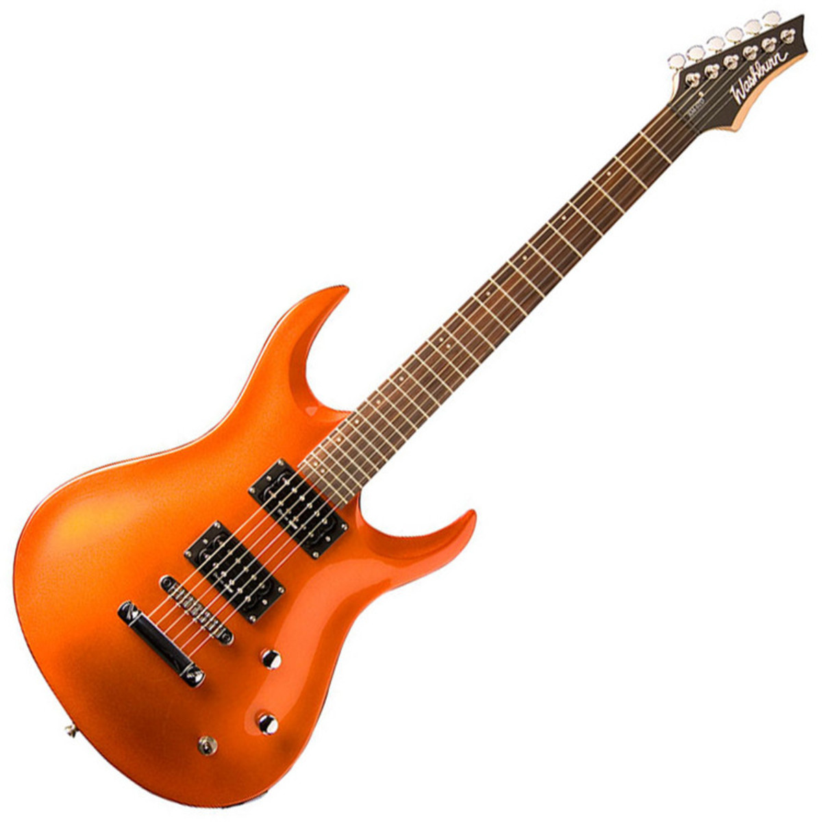 disc washburn xm series std2tng electric guitar tangerine at gear4music. Black Bedroom Furniture Sets. Home Design Ideas