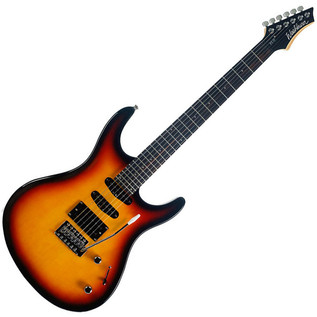 Washburn RX10VSB RX Series Electric Guitar, Vintage Sunburst