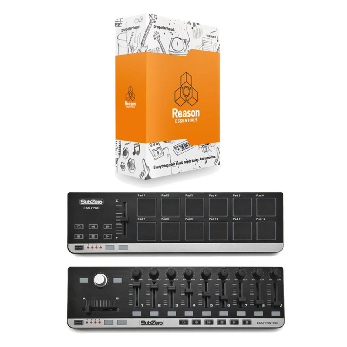 Propellerhead disco reason essentials 2 laptop produttore for Produttore di blueprint virtuale
