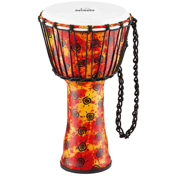 Rope Tuned Synthetic Djembe with Synthetic Head, Medium