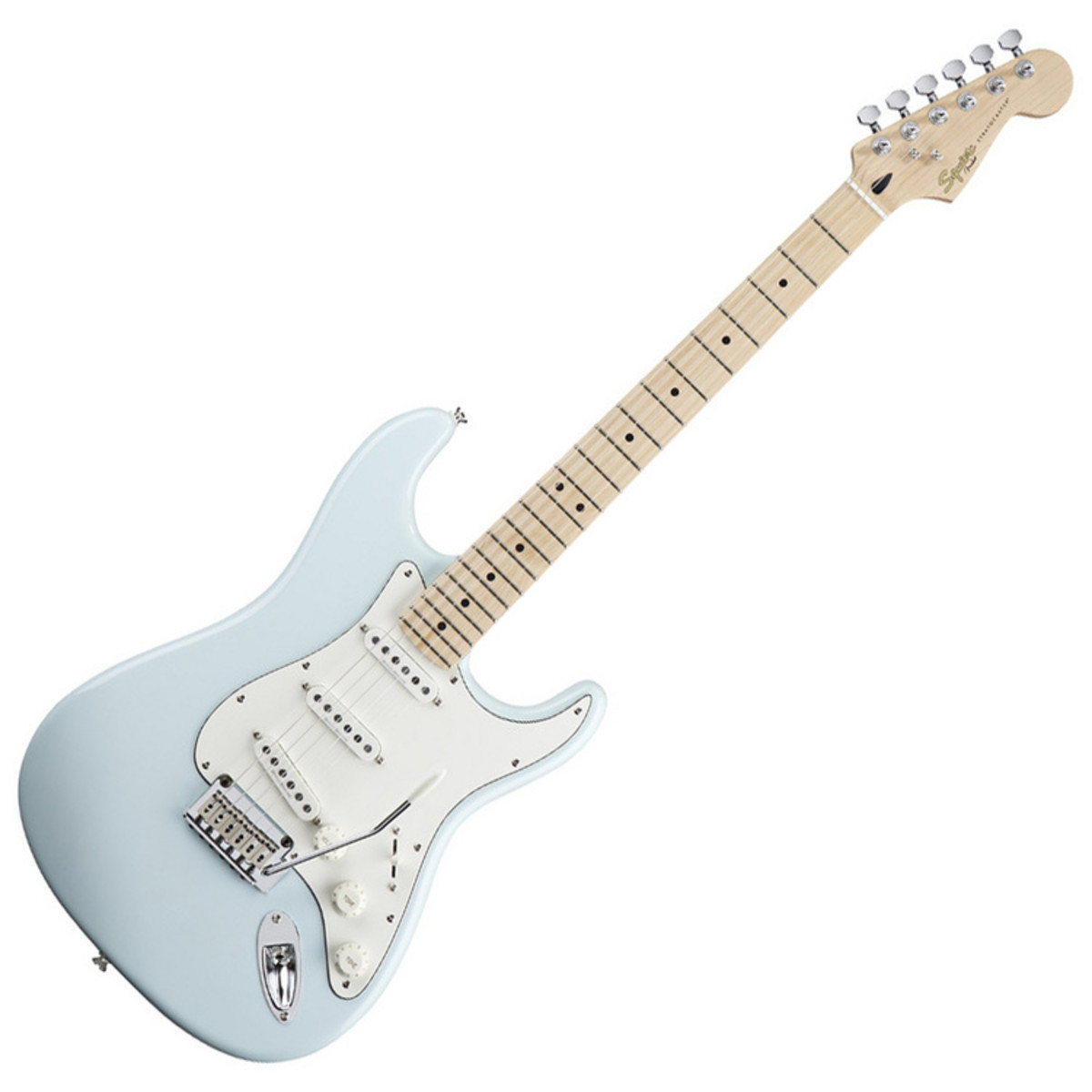 squier by fender deluxe stratocaster elec guitar mn db ex demo at gear4music. Black Bedroom Furniture Sets. Home Design Ideas