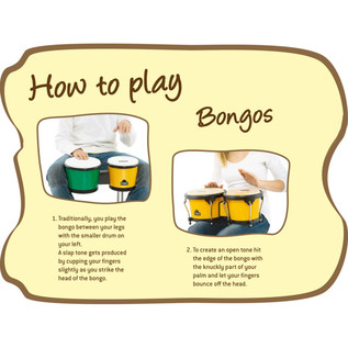 Meinl NINO17Y-BK ABS Bongos