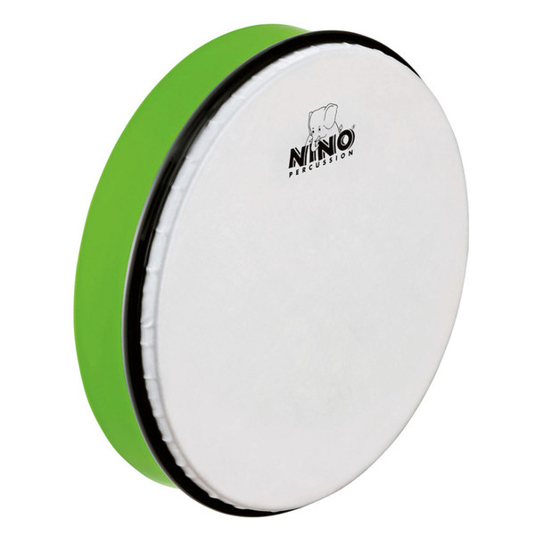 Meinl NINO5GG Percussion 10 inch ABS Hand Drum, Grass-Green