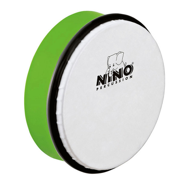 Meinl NINO4GG Percussion 6 inch ABS Hand Drum, Grass-Green